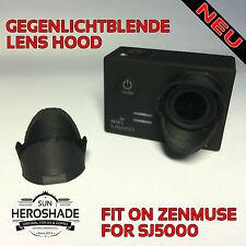 SJCAM SJ5000 für ZENMUSE DJI - Gegenlichtblende Sun Lens Hood Sunshade Duck