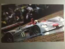 2002 Audi R8 Spyder 24 Hours of Le Mans Print, Picture, Poster RARE Awesome L@@K