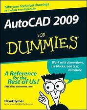 AutoCAD 2009 for Dummies by David Byrnes (2008, Paperback)