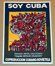 "24x36""Cuban movie Poster art for film""Soy Cuba""Cuba Rene Portocarrero painting"