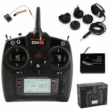 Spektrum SPM6750 DX6 6-Ch DSMX Radio Mode 2 w/ AR610 + Li-Ion Battery & Charger