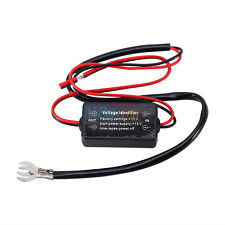 LED DRL Daytime Running Light Auto ON OFF Controller Module Relay Delay Device