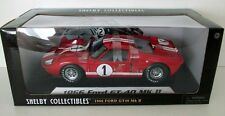 SHELBY COLLECTIBLES 1/18 - SC407 1966 FORD GT-40 MK2 (RED) LE MANS 66
