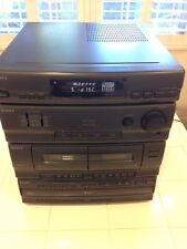 Sony LBT - D250 Compact HI-FI Stereo System 5 Disc Changer Dual Cassette