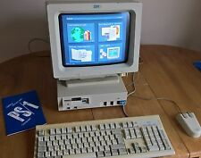 IBM PS/1 2011 computadora PC de 286, 1MB de RAM, disco duro de 40MB, dos 4.00 4-Quad GUI Raro