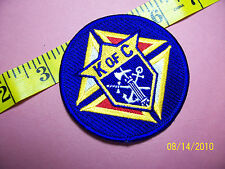 KNIGHTS OF COLUMBUS - Sword Anchor Cross Embroidered Patch 4""
