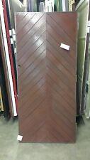 """3'0"""" x 6'6"""" Apex Belgravia PERSONNEL GRP Mahogany Woodgrain Front Doors"""
