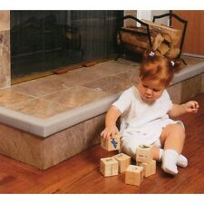 Cushiony Baby Child Safety Fireplace Guard + 2 Corners Grey New