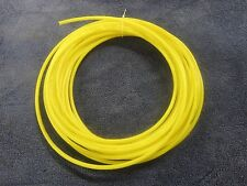 "1/4"" Pneumatic Polyethylene Tubing for Push to Connect Fittings Yellow PE0417-Y"