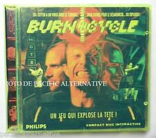 jeu BURN CYCLE pour console Philips CD-i aventure sol cutter vintage complet TBE