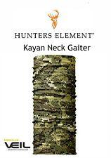 """Hunters Element Kayan Neck Gaiter Desolve VEIL camo""""buff like"""" balaclava"""