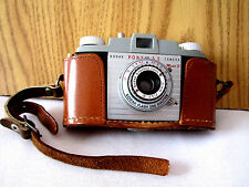 1950 Kodak Pony 135 Model B Camera 51mm Lens Leather Case in Poor Cond. included