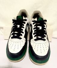 Nike AF-1 `82 Sneakers Men's Size 10 White/Black/Green Airforce XXV