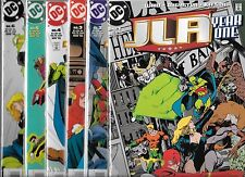 JLA YEAR ONE #1-#12 SET (NM-) MARK WAID, JUSTICE LEAGUE OF AMERICA
