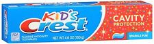 Crest Toothpaste Kids Cavity Protection Sparkle Fun Flavor 4.60 oz (Pack of 4)