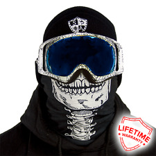 Salt Armour FROST TECH Fleece Face Shield SKELETON Breathable Face Mask!
