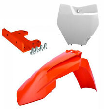 Polisport 2016 Front Fender & Number Plate + Adapter kit For  KTM SX/SXF 07-12