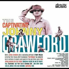 FREE US SHIP. on ANY 2 CDs! USED,MINT CD Johnny Crawford: The Captivating Johnny