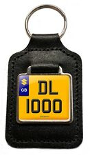 Suzuki DL1000 V-Strom Cherished Number Plate Motorcycle Leather Keyring Gift