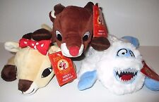 RUDOLPH & Friends 50 Years Dan Dee 3 Plush Toy Set - Rudolph,Bumble,Clarice NWT