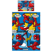 Marvel Ultimate Spiderman Webhead Bettwäsche Set 135x200 Bettgarnitur Duvet neu