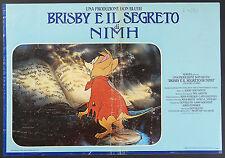 FOTOBUSTA 4 B, BRISBY E IL SEGRETO DI NIMH The Secret of NIMH, DISNEY POSTER