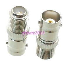 1pce Adapter Connector BNC female jack to F TV female jack for CCTV Video Camera