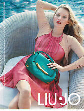 PUBLICITE ADVERTISING 104 2013  LIU-JO   haute couture  KATE MOSS