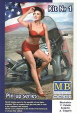 "American Beauty ""Marylin"" de EE. UU. Pin-Up Girl #24001 1/24 Masterbox"