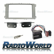 Ford Focus MK2 2007+ Double Din Stereo Radio Silver Fascia Fitting Surround KIT
