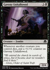 MTG 4x GAVONY UNHALLOWED - SACRILEGA DI GAVONY - EMN - MAGIC