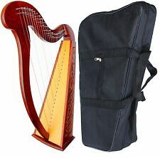 "Celtic Irish  Harp 22 Strings Lap FOLK DH-888 39"" DEURA DH888"