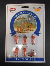 Model Power O Scale Prisoners (Orange) Pack (6 Figures) - MP6194