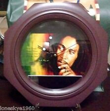 BOB MARLEY Memorabilia Collectors' Wall Clock