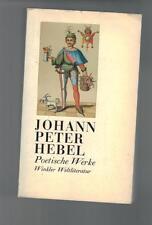 Johann Peter Hebel - Poetische Werke