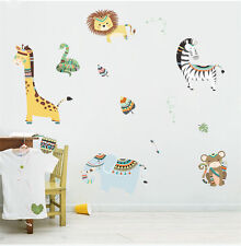 Gorgeous Pastel Colour Animals Wall Sticker, nursery, Africa, Lion Guard