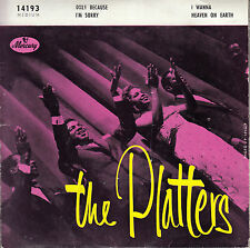 45TRS VINYL 7''/ SUPERBE FRENCH EP THE PLATTERS / I'M SORRY + 3