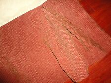HIGH COUNTRY LINENS SOUTHWESTERN CHENILLE TERRACOTTA RIBBED QUEEN BEDSKIRT 15""