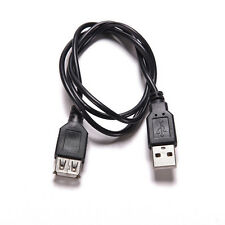 USB Extension 2.0 A to A Male Female Extension Cable Cord Charger Data