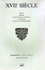 REVUE XVIIe siècle Juillet/Septembre 2001 n° 212 LES ENTREES ROYALES