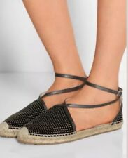 NEW--Jimmy Choo Donna Black Espadrille Size US 9.5 - 39.5 -Retail $525