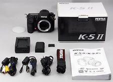 【NEAR MINT!!!】 PENTAX K-5 II 16.3MP Digital SLR Camera Body 5487Count w/BOX From
