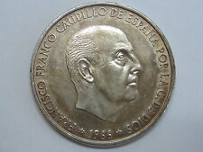 1966 *19-70 FRANCO 100 PESETAS RARA SPAIN SPANISH