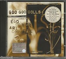 GOO GOO DOLLS Ego opinion art & commerce - CD 2001 NEW
