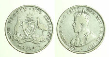 pcc1249_5) 1914 Sterling Silver Florin Coin Australia King George V