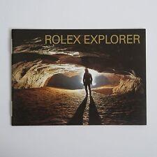 ROLEX BOOKLET EXPLORER  14270 16570 114270   LIBRETTO ITALIANO anno 2001