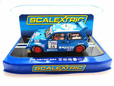 "Scalextric ""Sanyo"" MG Metro 6R4 DPR W/ Lights 1/32 Scale Slot Car C3639"