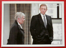 JAMES BOND - Quantum of Solace - Card #011 - M Expresses Frustration