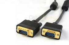 5m VGA SVGA 15 pin cable Pc A Monitor Tft Lcd Tv Plomo