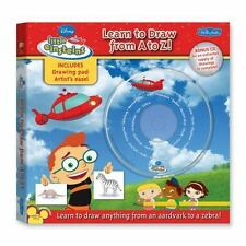 Disney's Little Einsteins Learn to Draw from A to Z: Learn to draw anything from